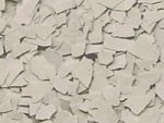 Epoxy Floor Chips - Antique White