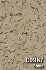 Epoxy Floor Chips - Stone