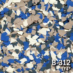 Epoxy Floor Chips - FB312